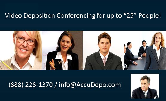 Streaming Video Conferencing for Depositions New Orleans Baton Rouge Houma